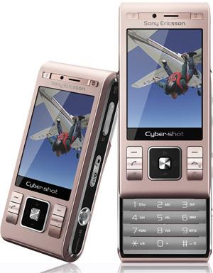 SonyEricsson C905 粉紅