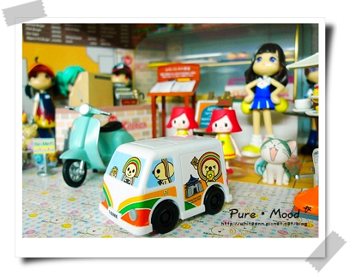 PINKY家的麵包車~(投影迴力車)