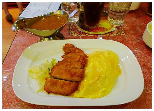 起司歐姆蛋日式炸豬排咖哩飯
