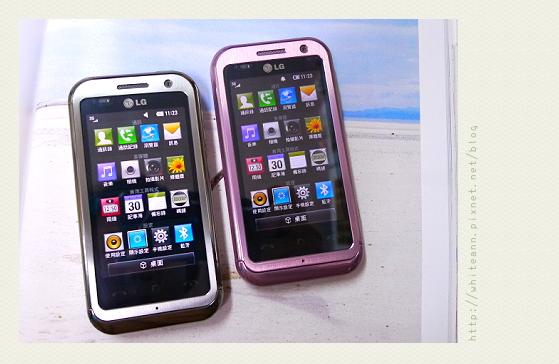 LG KM900 - 安的銀色&我的粉紅色