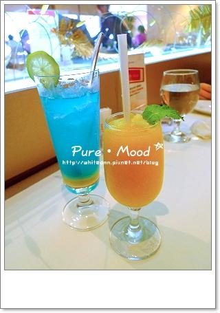 雪沁藍橙和情人果香芒冰沙