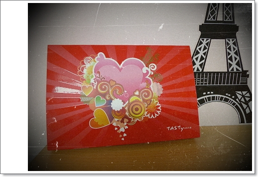 TASTY貼心照片生日卡片