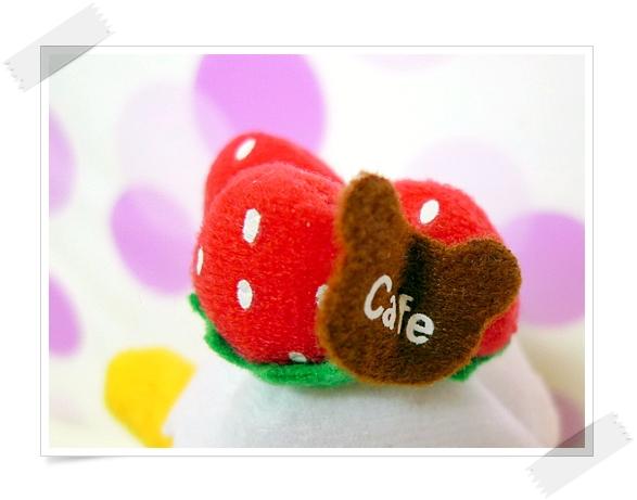 草莓好好吃~