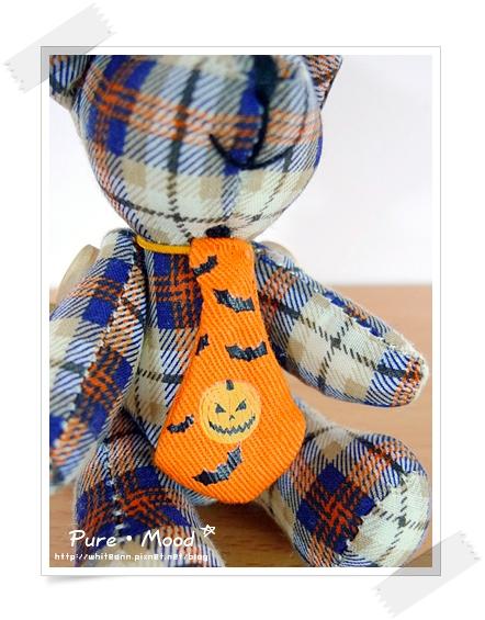 萬聖節南瓜領帶