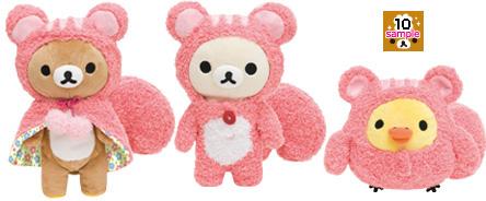 懶懶熊10月新商品-森林(松鼠)系列