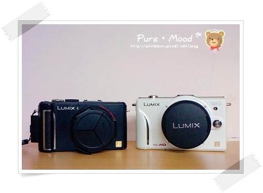 LX3 + GF2哥倆好一對寶手機照:D