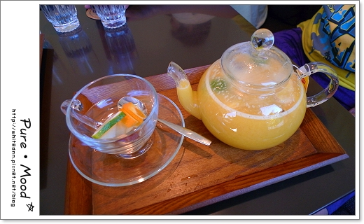 鮮果茶(熱)