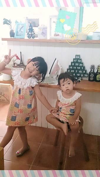 慶祝阿嚕生日縫的洋裝