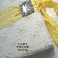 鵝黃色的JULIA'S結婚證書夾