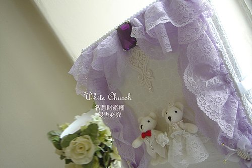 Lung & Ting's浪漫滿屋~結婚證書夾