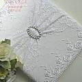 97/5/29新發售(白色花嫁)結婚證書夾.結婚證書