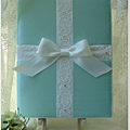 白色禮堂~98.7.19發行~Tiffany's手作西式結婚證書.結婚證書夾
