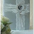 白色禮堂~99/1/15~冬の誓約~手作西式結婚證書夾