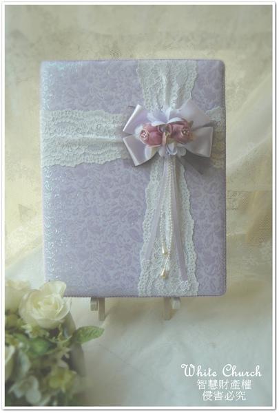 秋の誓約~手作西式結婚證夾