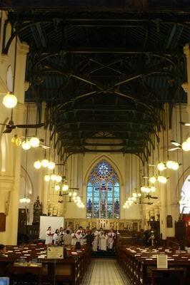 聖約翰大教堂內部