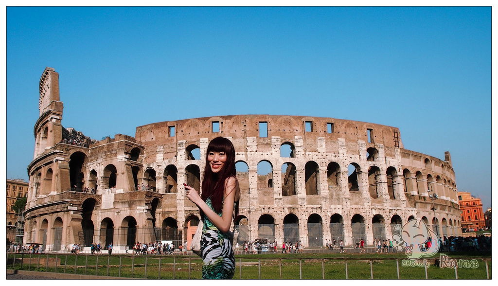 Italy Rome羅馬競技場(Piazza del Colosseo)
