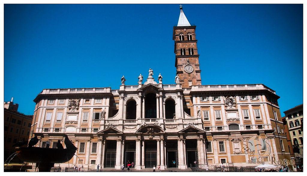Italy 羅馬 聖母大殿(教堂)Santa Maria del Maggiore