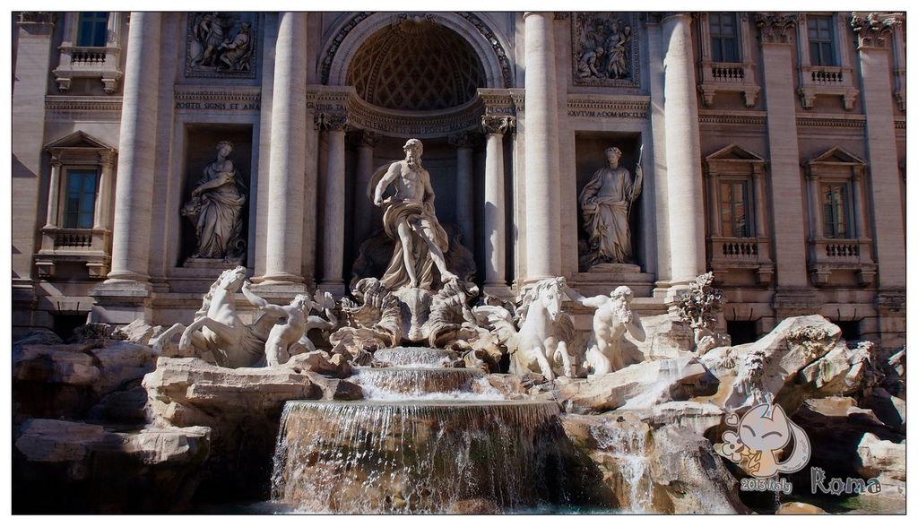 Italy 羅馬 許願池 Fontana di Trevi