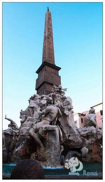 Italy 羅馬 四河噴泉