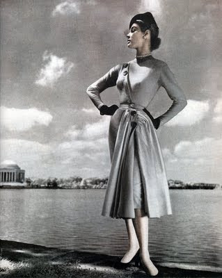 JP 1951 dress by Jacques Fath