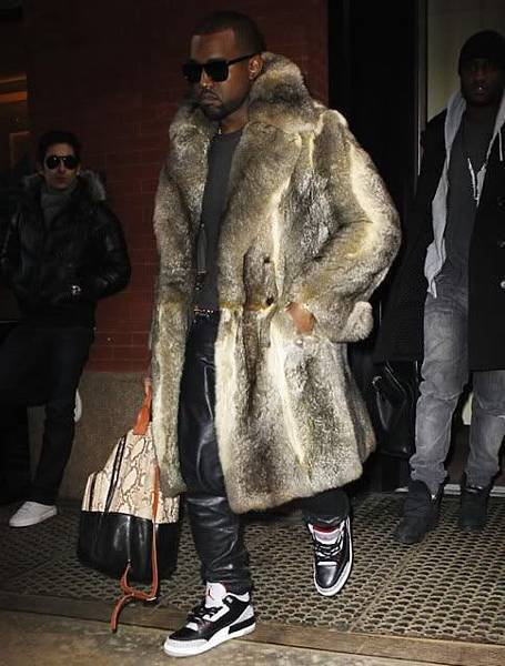 kanye-west-fur-coat-leather-pants