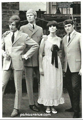 60s Mod Double-breasted suit