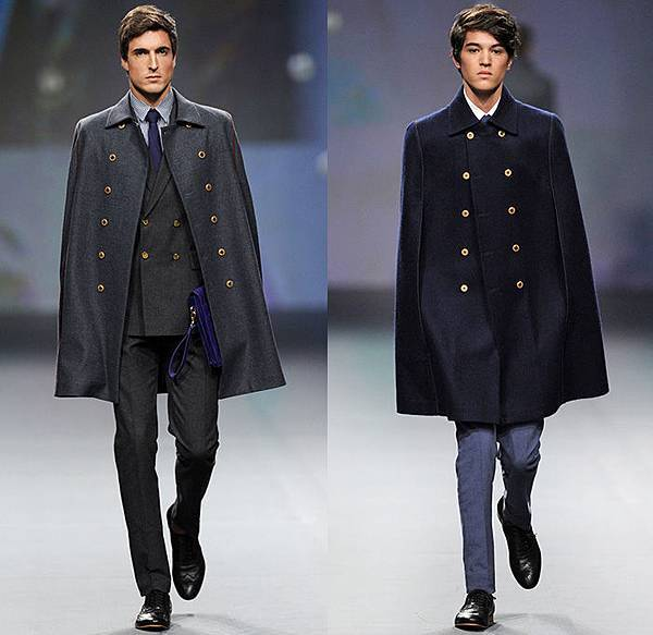 the-emperor-1688-2014-2015-fall-autumn-winter-fashion-mens-fashion-forward-dubai-uae-cape-trench-coat-suit-blazer-tuxedo-necktie-furry-checks-01x