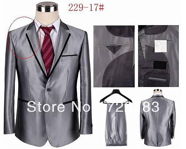 Cheap-Mens-Silver-font-b-Suits-b-font-Slim-Fit-Brand-Formal-font-b-Suits-b