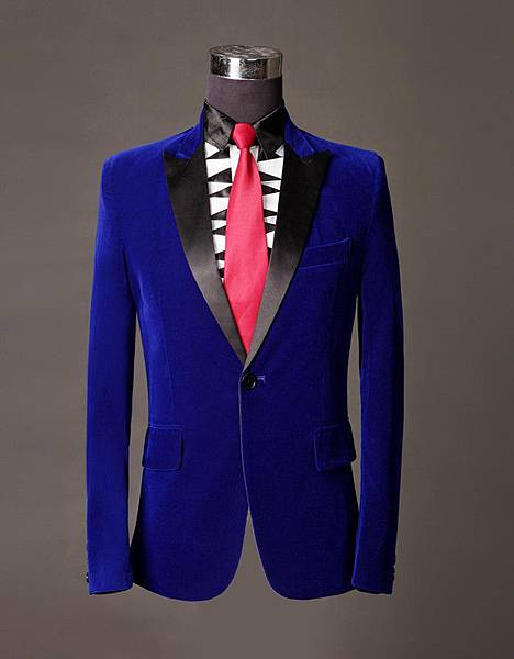 High-Grade-font-b-Men-b-font-Blazer-Slim-Fit-font-b-Royal-b-font-font