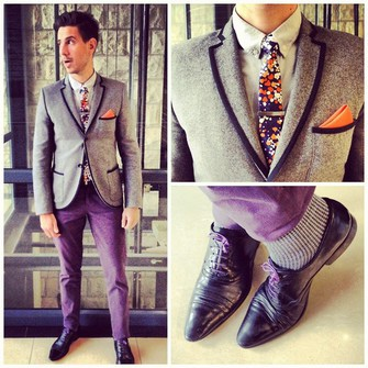 vlypbj-l-c335x335-purple-jacket-sexy-whatmyboyfriendwore-blazer-prom-chinos-pants-fancy-dapper-tie-cotton-suit-tuxedo-cotton-dress-gentleman-mens-guys-socks-prom+menswear