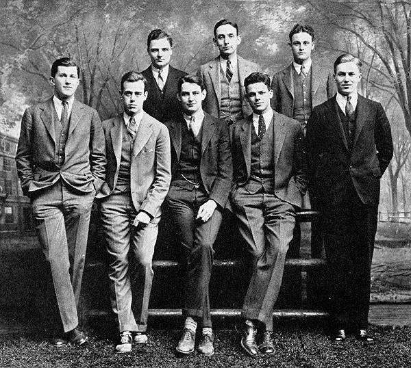 1920s-Mens-Style-Suits-Whiffenpoofs-1927