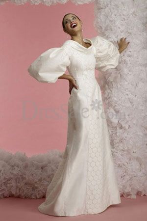 wedding-dress-balloon-sleeve