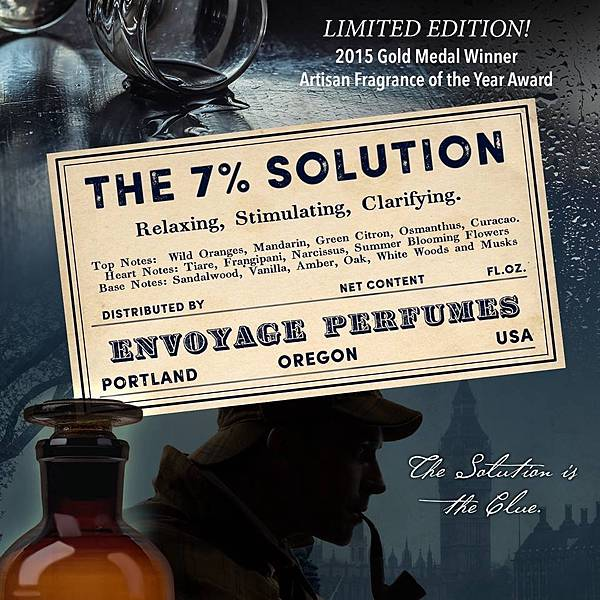 【En Voyages Perfumes】The 7% Solution (百分之七的解決方案)2.jpg
