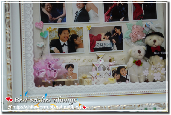婚禮相框009