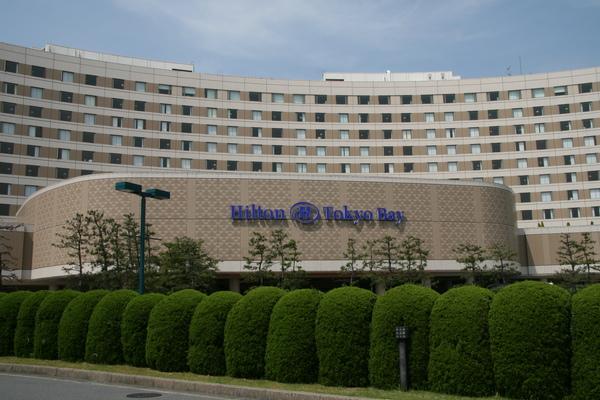 東京灣Hilton外.JPG