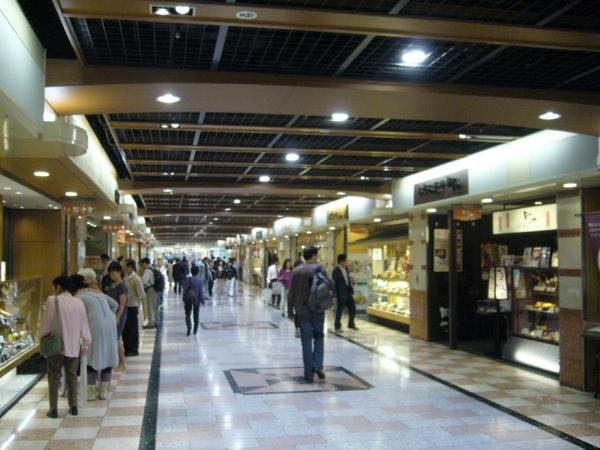 京都駅地下街