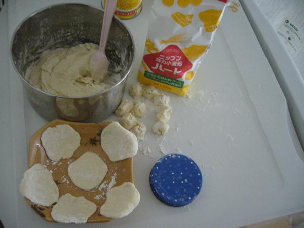 撖麵自製水餃皮