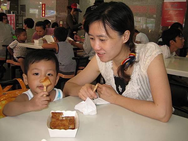 甲仙吃芋頭糕及芋頭冰!