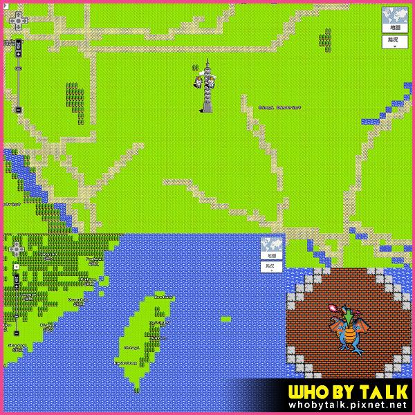 Google地圖 8bit 紅白機版