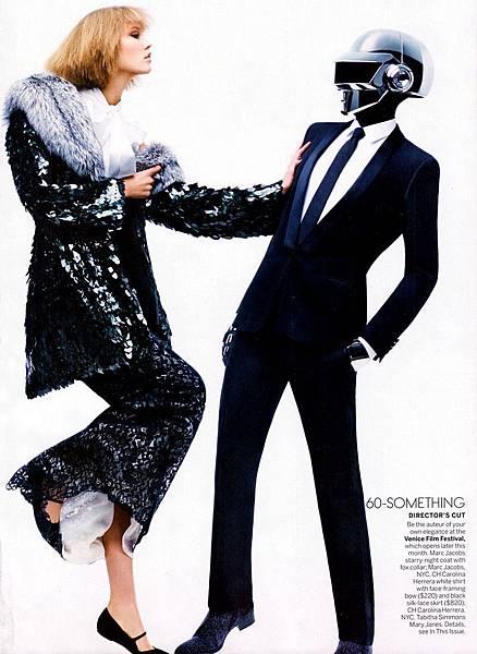 Karlie Kloss-Daft Punk