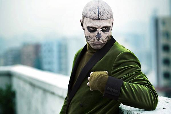 刺青男模_Rick Genest_殭屍男孩_Zombie Boy