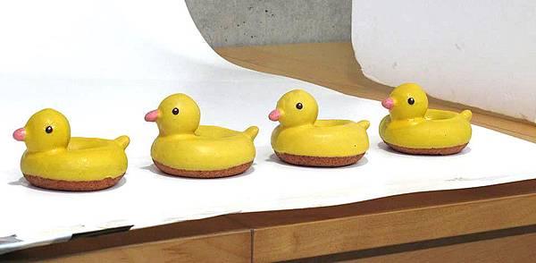 Floresta甜甜圈_超萌_療癒系_黃色小鴨_Rubber Duck