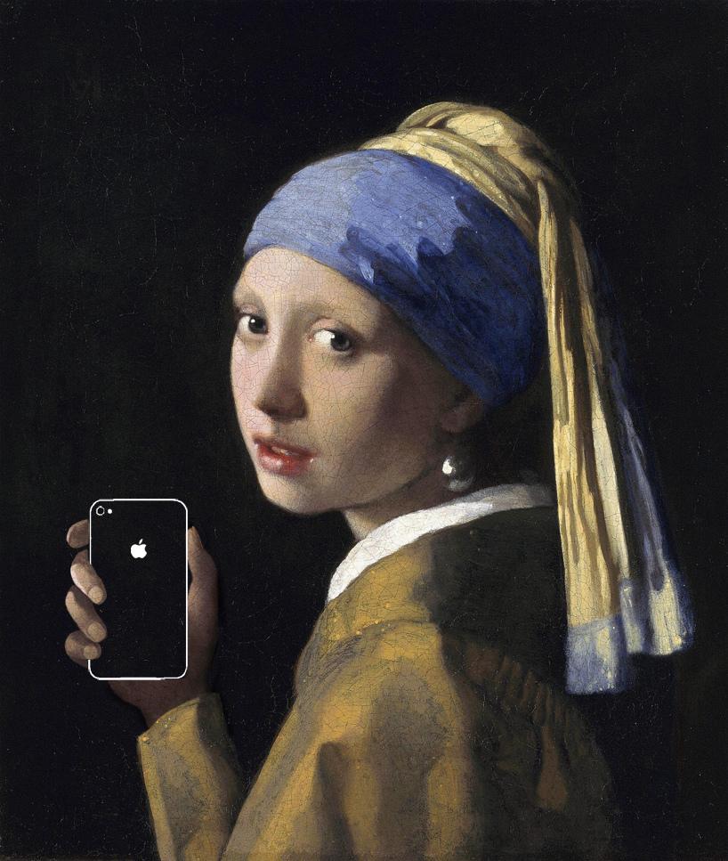 Art X Smart_apple_iPhone_iPad_梵谷_畢加索_塞尚_莫內_胡白說