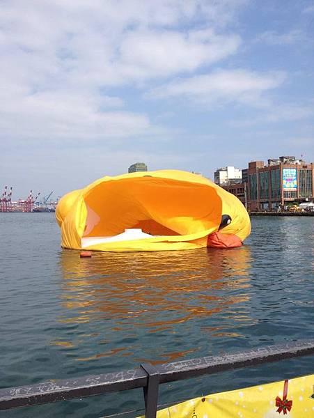 黃色小鴨基隆_Rubber Duck_基隆_Keelung_黃色小鴨火車