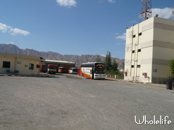 Nuweiba port bus station.JPG