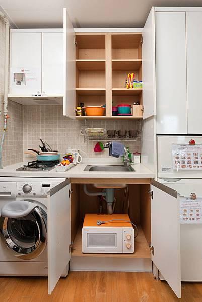 廚房(洗衣機,微波爐冰箱)