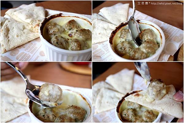 TINO'S PIZZA - 奶油燉焗肉丸1.jpg