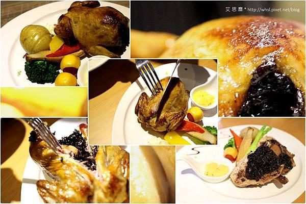 潘‧卡菲卡費-義式烘烤香草野米小春雞佐蜂蜜芥末籽醬1.jpg