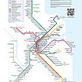 布里斯本火車路線圖