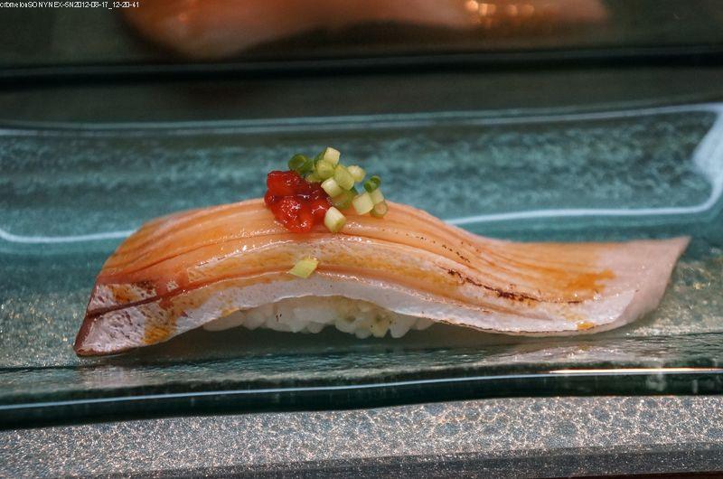 青魽肚握壽司?